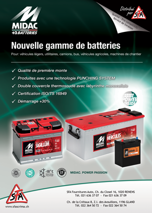 Batteries Midac